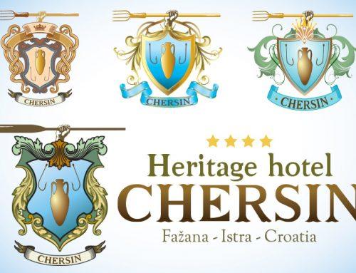 Dizajn logotipa za Heritage hotel Chersin