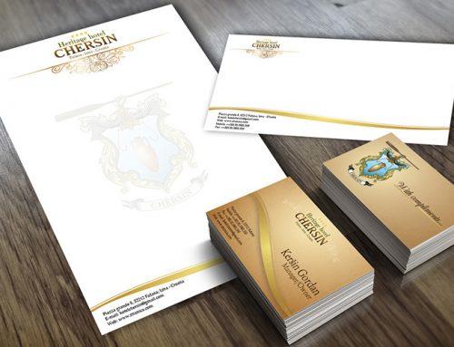 Dizajn vizualnog identiteta za Hotel Chersin