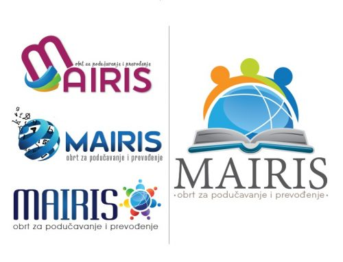 Dizajn logotipa za Mairis – obrt za podučavanje