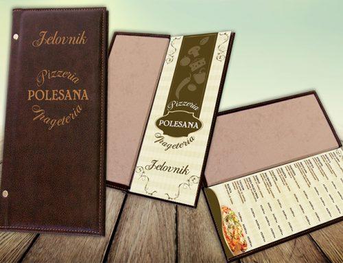 Dizajn jelovnika Restoran Polesana