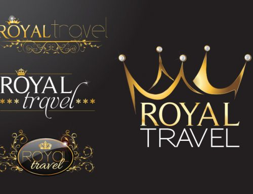 Dizajn logotipa za Turističku agenciju Royal travel