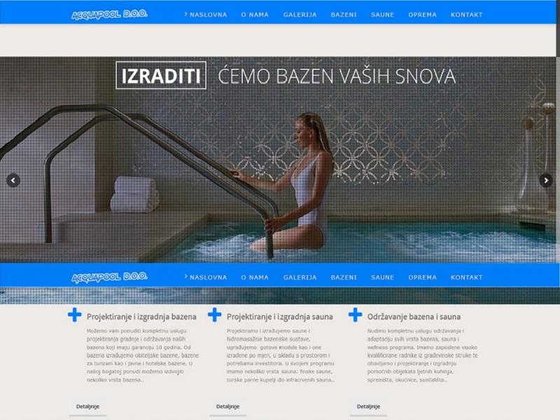 Web stranice za odmor