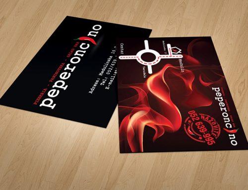 Dizajn letka za Pizzeriu Peperoncino